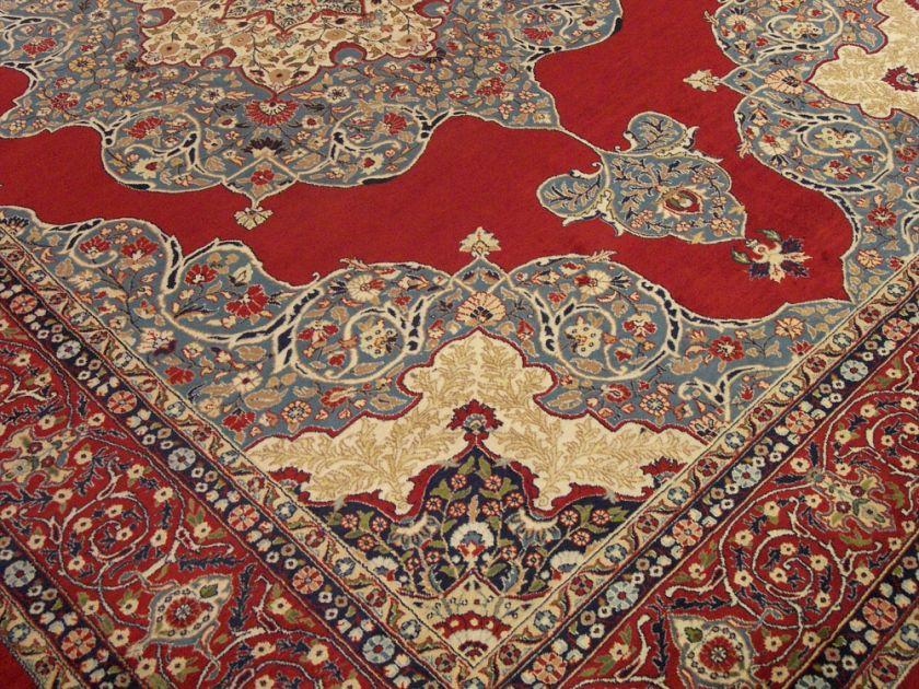 12 Beautiful Handmade High Quality New Persian Isfahan Kirk Wool