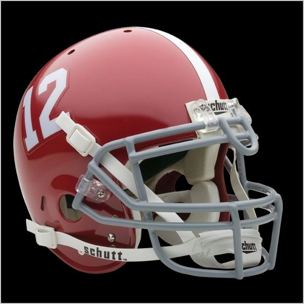 ALABAMA CRIMSON TIDE Football Helmet Decals FREE